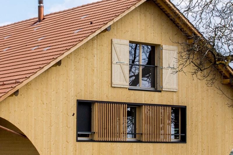 Sanierung in schmitten vonlanthen holzbau ag - Architekt bauernhaus ...